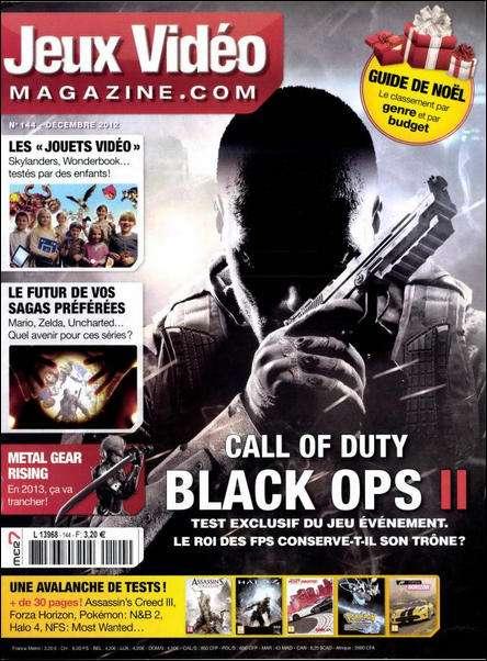 Jeux Vidéo Magazine N°144 Décembre 2012