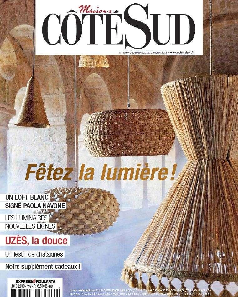 Maisons Coté Sud N°139 Décembre 2012 Janvier 2013