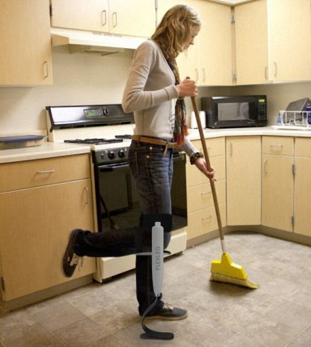 FlexLeg: Reemplazo hi-tech para las muletas