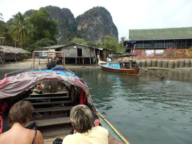 der Hafen am Ban Hat Yao Yai