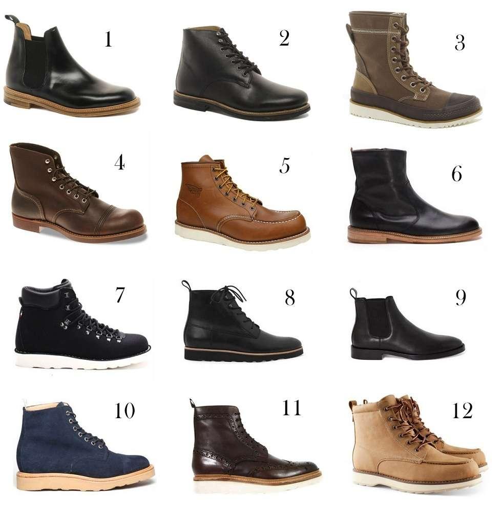 fede sko til mænd